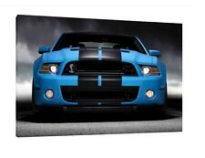 Ford Mustang GT500 - 30x20 Inch Canvas - Framed Picture Print