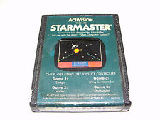 Activision Starmaster Atari 2600 Video Game Cartridge 1982 Tested Working