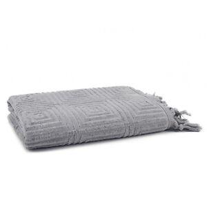 Troya 2 Pieces Bamboo Towel Set (1 Bath Towel, 1 Hand Towel)