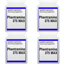 Phentemine 375 Max Strong Diet Pill Slimming Weight Loss Fat Burner 37.5mg