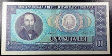 ROMANIA: 1966 100 Lei Banknote, P-97, **UNC Condition** ◢ FREE COMBINED S/H ◣