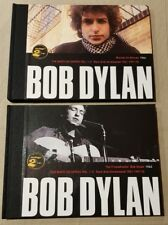 BOB DYLAN - 2 BOOKS LIMITED EDITION 2007 SPANISH PRESS - 4 DISK 42 PAGES EACH