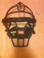 RAWLINGS Ai1 CATCHER'S MASK--FACE GUARD--PROTECTION--BLACK----FREE SHIP--NEW