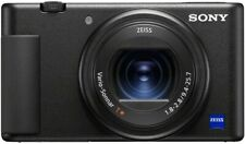 Sony - ZV-1 20.1-Megapixel Digital Camera for Creators and Vloggers - Black