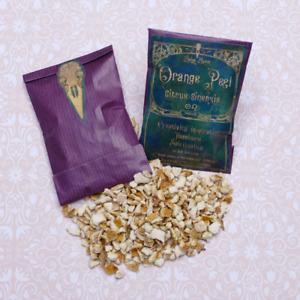 Orange Peel organic apothecary herbs, soap bath, tea, magical, witchcraft, juju