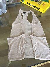 Vest Bebe designer knitted beige size XS good condition