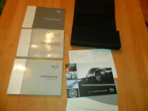 NISSAN PRIMERA OWNERS MANUALS AND WALLET 2006