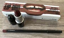 MAC Lip Duo Gift Set Pencil Burgundy Matte Diva Lipstick