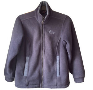 🌺LOWE ALPINE  ALEUTIAN Navy Fleece Jacket Size Small🌸