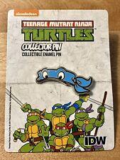 Con Exclusive IDW Teenage Mutant Ninja Turtles Enamel Pin - Leonardo NEW