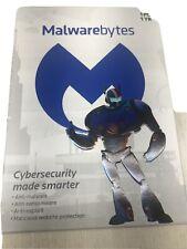 Malwarebytes 1 year, 1 PC Computer Software Protection NEW
