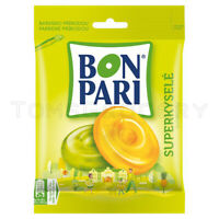 BON PARI SUPER SOUR Tropical Fruit Flavor Hard Candies Bonbons 90g 3.2oz