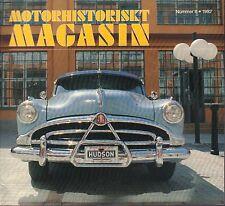 Motorhistoriskt Magashin Swedish Car Magazine #6 1992 Hudson 031617nonDBE