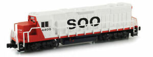 AZL :-  62510-2 GP38-2 SOO LINE #4410  Z Scale Brand New & Boxed  Last one
