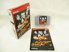 007 GOLDEN EYE 007 Item REF/149 Nintendo 64 JAPAN Game n6