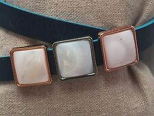 Mother of Pearl Square Slide Charm *New* Fits Keep Collective