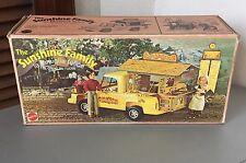 1975#VINTAGE RARE SUNSHINE FAMILY VAN  PIGGYBACK SHACK CAMPER VAN #NIB