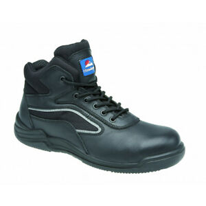 Black Hygrip Safety Trainer Boot Size 7 Metal Free 4203 HIMALAYAN