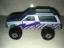 RARE VINTAGE 1983 Hot Wheels Chevy Blazer 4X4 Blue