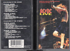 "AC/DC ""LIVE"" COLLECTION EDITION DOUBLE CASSETTE BOX / ONLY BOX, NO CASSETTES!!!!"
