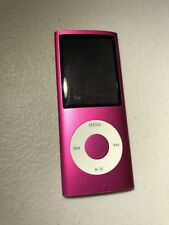 Apple iPod Nano 4th Gen 8GB Pink Battery Need replacing