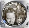 "The Shining Horror #1 Slipmat Turntable 12"" Record Player, DJ Audiophile"