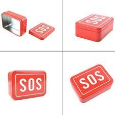SOS Help Outdoor Sport Camping Wandern Survival Notfallausrüstung Box Kits-Set