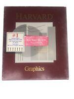 Harvard Graphics 2.0 - Vintage Software - 1st Ed. 1st Printing 1987 - Rare