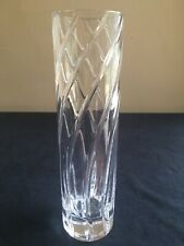 "Tiffany & Co REEDS 8"" Crystal Bud Vase; FREE SHIP"