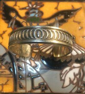 ELGANT DARIN BILL 'alluring' Story* Sterling Silver Heavy Bracelet 90Grams