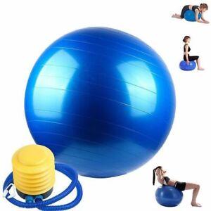 Gymball Palla Da Ginnastica Gonfiabile Yoga Pilates Fitness 75Cm Gonfiatore dfh