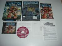 Warhammer 40,000 FINAL LIBERATION Pc Cd Rom Original BIG BOX