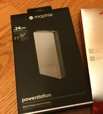 Mophie Powerstation Space Gray 24 Hour Quick Charge External Battery - 6000 mAh
