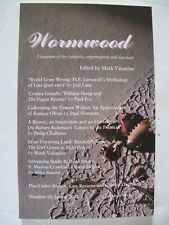 Mark Valentine [Ed.] - WORMWOOD No. 18 (Spring 2012) – Tartarus Press