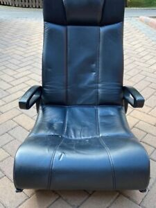 X Rocker Black Gaming Chair With Speaker