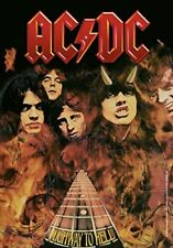 AC/DC - HIGHWAY TO HELL - FABRIC POSTER - 30x40 WALL HANGING HFL0746