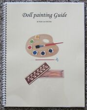Composition Doll painting repair book!