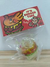 Unbox Greenie & Elfie Elephant Burger Vinyl Figure Transparent GID Glow Flake