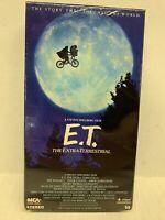 E.T. the Extra-Terrestrial VHS Movie Steven Spielberg Vintage 1988 -N88