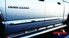 BSDO611 02-08 Dodge Ram 1500/2500 Mega Cab Chrome Side Door Body Molding Trim 2""