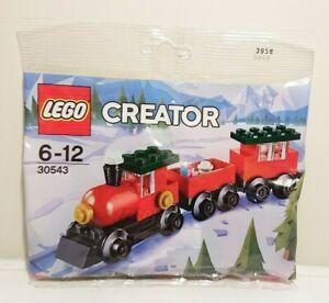 LEGO Creator Christmas Train Polybag (30543) NEW & SEALED Stocking Filler
