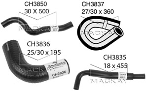 Mackay Radiator Hose set MAZDA MAZDA3 2003~2009 2.0L 2.3L