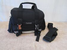 Heavy Duty Black Canon Camera Case w/Carrying All Shoulder Strap Tote Bag