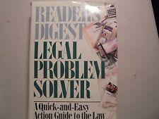 Legal Problem Solver: Readers Digest 1994