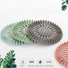 Portable Hair Stopper Filter Silicone Bathroom Supplies Kitchen Shower Covers
