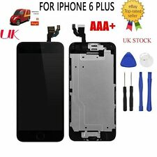 New LCD Touch Screen Digitizer for Black iPhone 6 Plus with Home Button & Camera