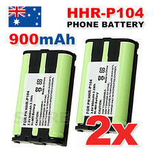 OZ Just For Panasonic HHR-P104 2X Cordless Phone Battery Ni-MH 3.6V 900mAh