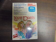 "RCA Karaoke In The Style Of ""Love Duets"" Lyrics-On-Screen Cassette Tape"