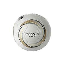 MACRON ARROW 11 MATCH BALLS - SET OF 9 - WHITE/GOLD/BLACK - SIZE 4