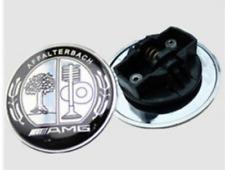 ☆ LOGO EMBLÈME AMG Affalterbach MERCEDES 57 mm FULL BLACK pour capot/ insigne